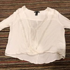 F21 lace blouse